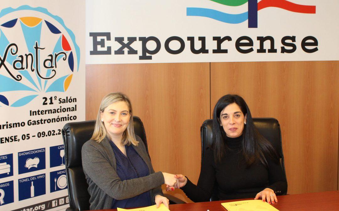 Convenio de Colaboración entre la Escuela de Hostelería y Turismo y Xantar 2020